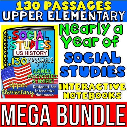 4th grade social studies interactive notebook