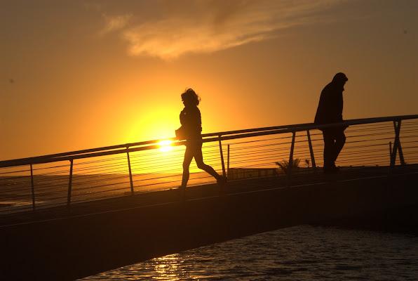 Passaggio al tramonto  di poppy