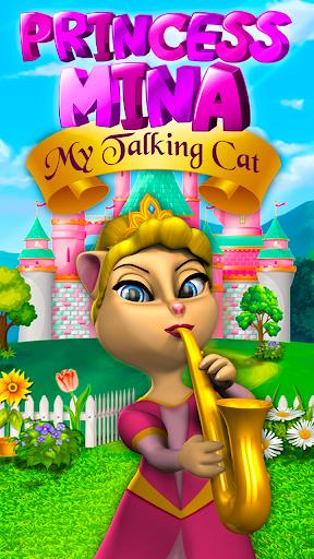 Princess Mina - My Talking Cat 1.3 screenshots 1
