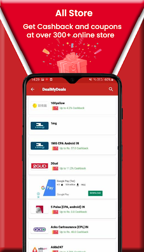 DealMyDeals - Coupons,Deals and Earn Scratch Cards screenshot 6