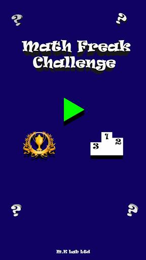 Math Freak Challenge