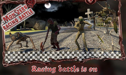 怪物赛车战斗3D