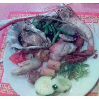 Marinated Seafood Salad.
