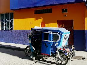 Photo: In Puno sind sie blau.