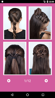 Best Hairstyles step by step app (apk) free download for Android/PC/Windows screenshot