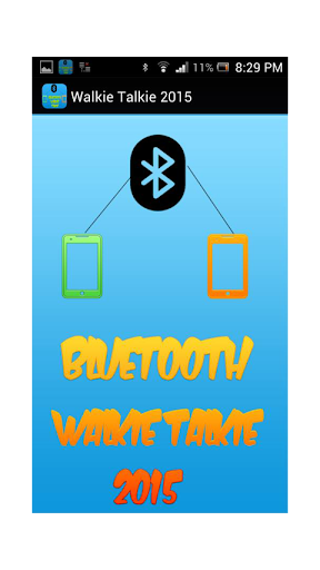 Bluetooth Walkie Talkie 2015