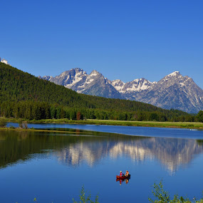 Tetons by Vijay Govender - Landscapes Travel ( mountains, tetons )