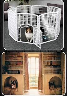 dog cage ideas screenshot thumbnail - Dog Crate Ideas