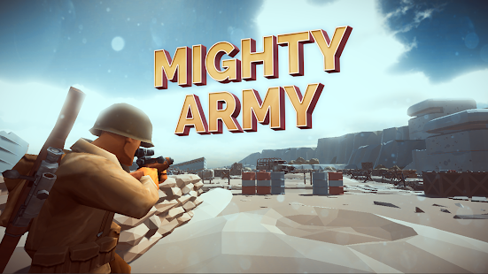 ApkMod1.Com Mighty Army : World War 2 + (Mod Money) for Android Action Game