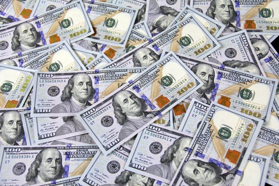 US Currency $100 bills.