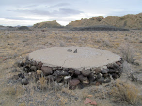 Photo: Stone and concrete foundation