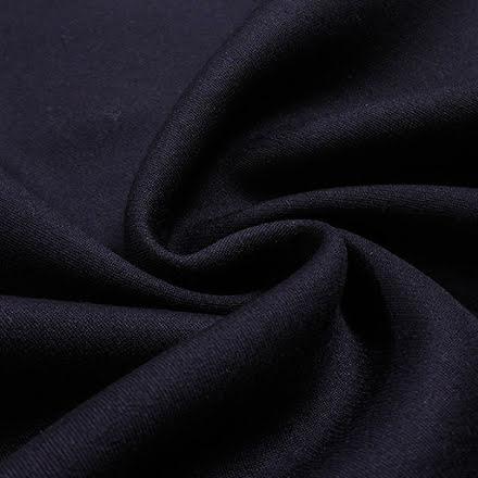 Dubbelvävd Twill - mörkblå