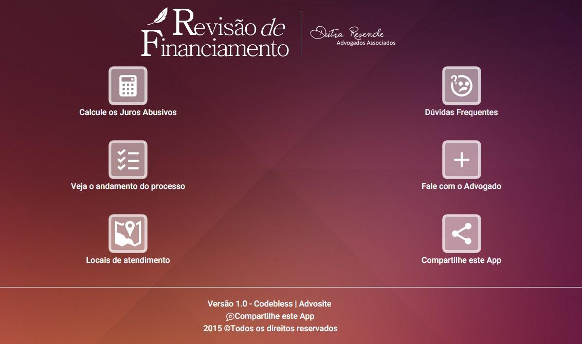 Revisão de Financiamento- screenshot