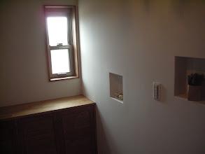 Photo: 玄関の造作靴棚とニッチ(3)