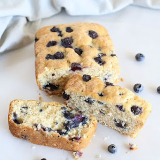 Amazing Vegan Blueberry Loaf Bread Recipe