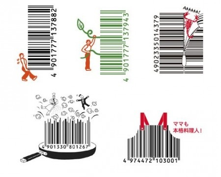 Pics to pics funny barcodes for Barcode food