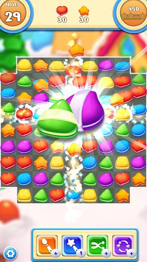 Cookie Macaron Pop : Sweet Match 3 Puzzle filehippodl screenshot 3