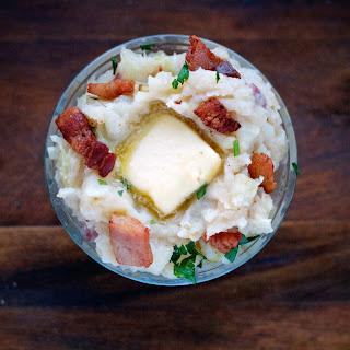 (Irish Mashed Potatoes and Cabbage).
