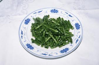 Photo: 10996 上海/レストラン/ササゲ豆料理