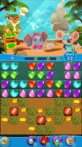 Pirate Puzzle Blast - Match 3 Adventure apkdebit screenshots 18