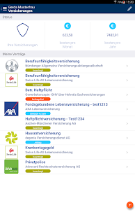 FinanceApp – Miniaturansicht des Screenshots