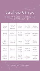 Taurus Bingo - Facebook Story item