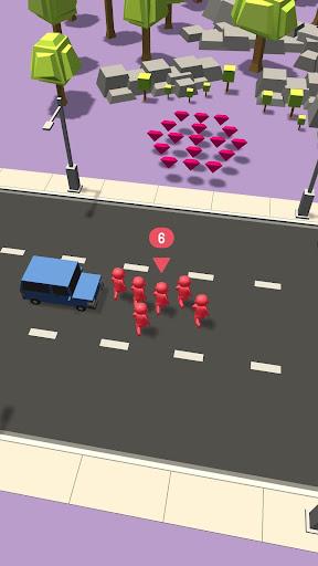 Télécharger Gratuit Crowd VS Traffic APK MOD (Astuce) screenshots 1