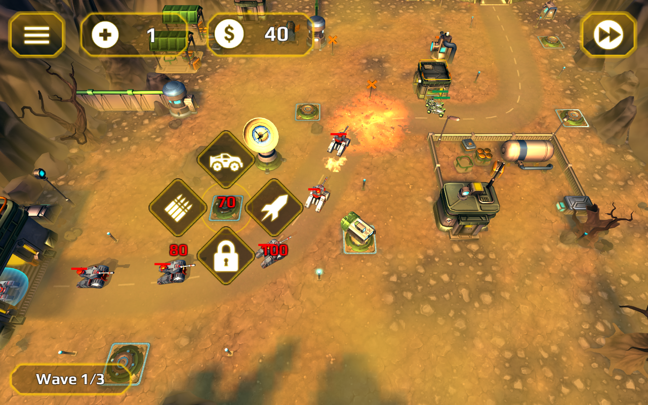 Tower Defense Generals TD- screenshot