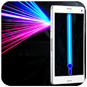 Laser FlashLight Simulator