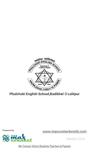 Phulchoki English School,Badikhel-3 Lalitpur screenshot 1