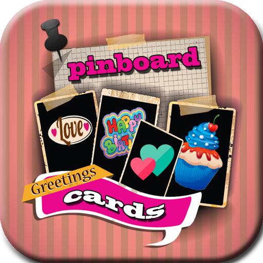ピンボードグリーティングカード 生活 LOGO-玩APPs