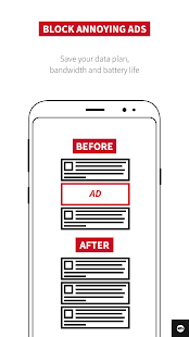 Adblock Plus for Samsung Internet - Browse safe. Screenshot