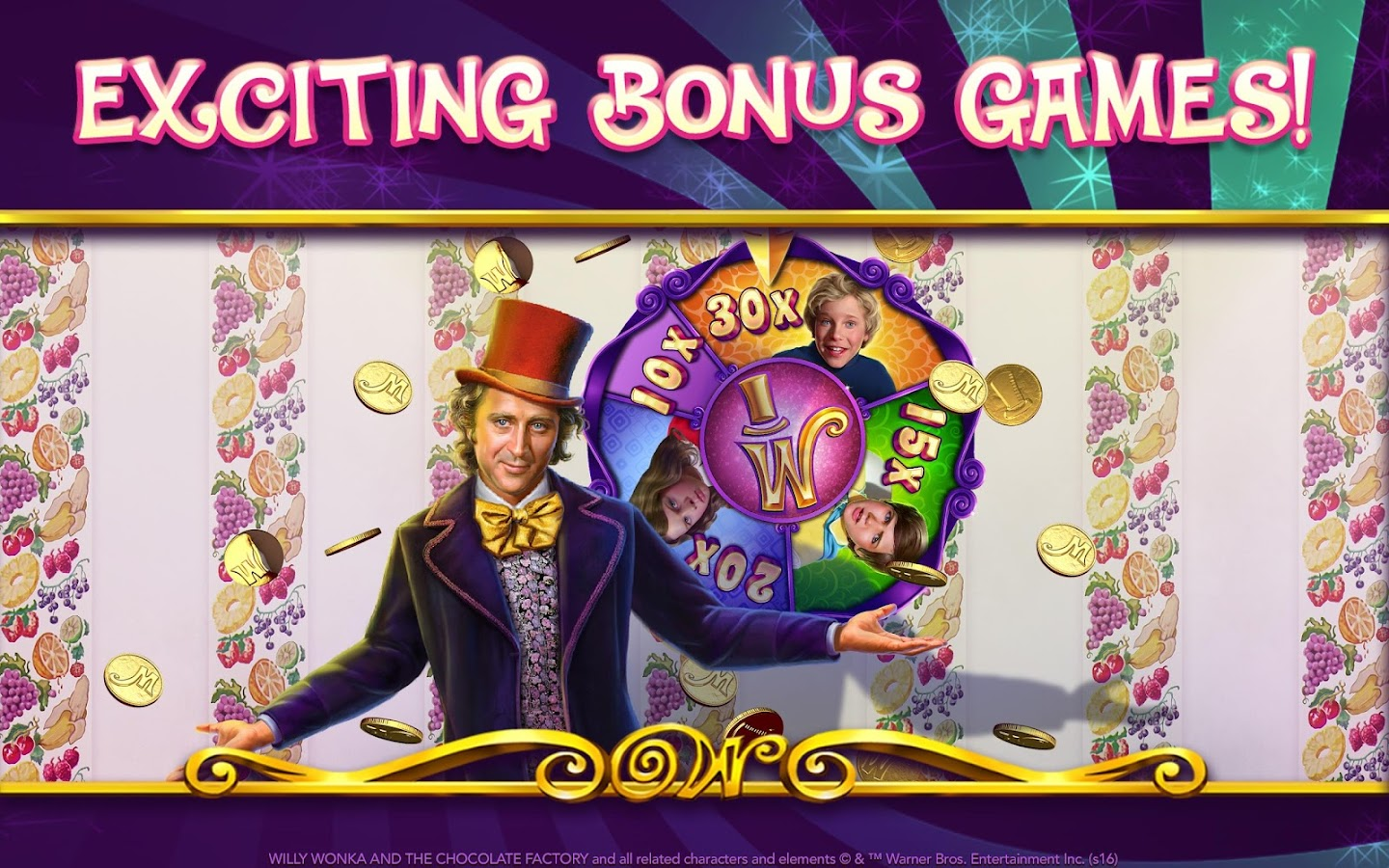 play free willy wonka slots
