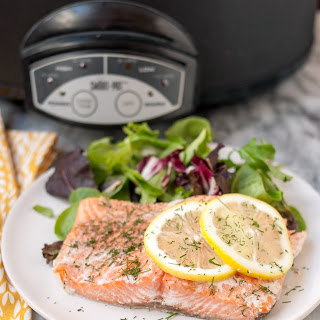 How To Cook Salmon in the Slow Cooker.