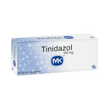 Tinidazol MK 500mg   Tableta Caja x8Tab.