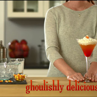 Candy Corn Cocktail is Ghoulishly Delicious