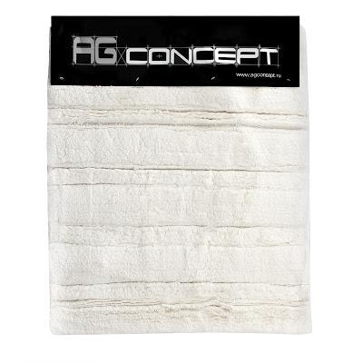 Коврик для ванны Ag concept 50х60 см белый 2 полоски