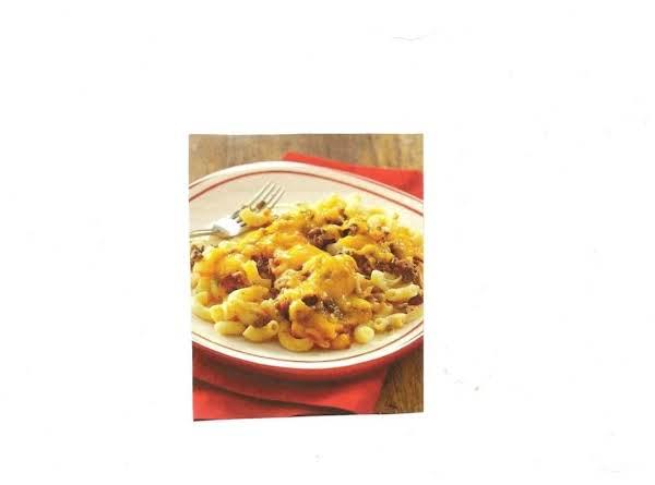 Skillet Ground Beef & Pasta Casserole