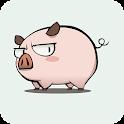 Cute Pig Live Wallpaper icon