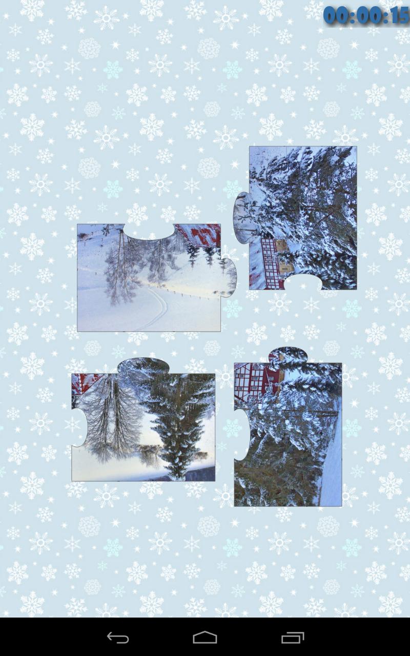 Скриншот Зима головоломка