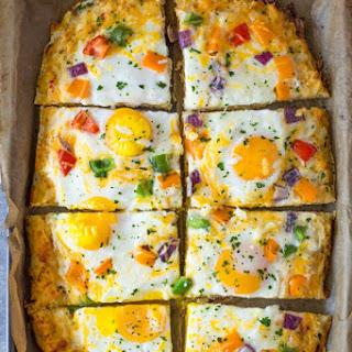 Hash Brown Crust Breakfast Pizza + Giveaway!.