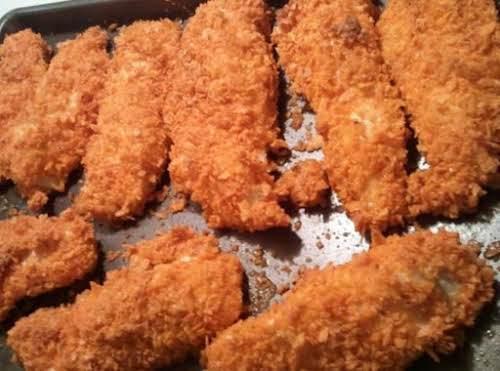 "Dorito Chicken Strips/Nuggets ""A guy friend of mine shared his recipe for..."
