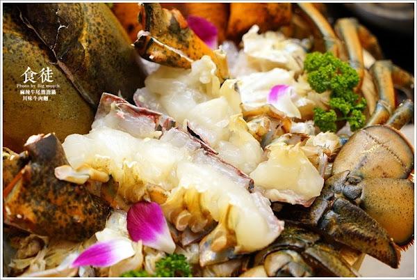 食徒罌粟鮮麻鍋、川味牛肉麵‧可以喝的麻辣湯頭,涮煮海鮮也超好吃!麻辣牛尾鴛鴦鍋必吃,川味牛肉麵也是一絕!