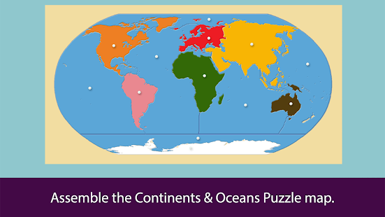 Montessori Continents & Oceans- screenshot thumbnail
