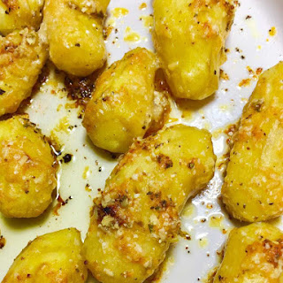 Fingerling Parmesan Potatoes.