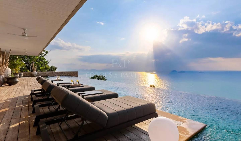 Villa avec piscine Thaïlande