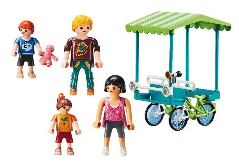 Contenido real de Playmobil® 70093 Bicicleta Familiar