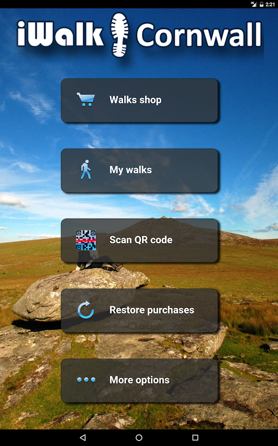 iWalk Cornwall- screenshot