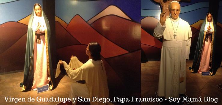 Museo de Cera en Veracruz con niños: Papa Francisco