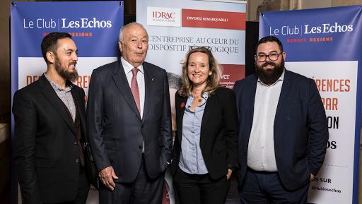 Club Les Echos Débats Région avec Alain Mérieux, Laurent Fiard et Joël Tronchon - IDRAC Business School Lyon
